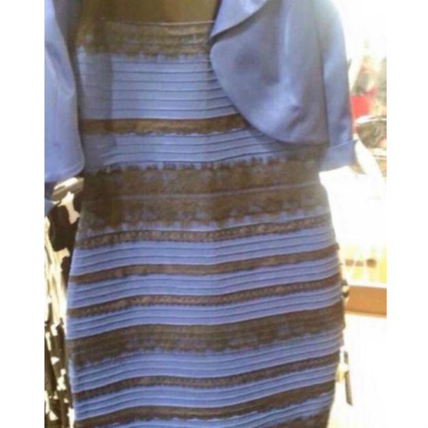 فستان عجيب حير العالم في الوانه