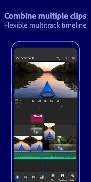 برنامج تعديل الفيديو والكتابة عليه
